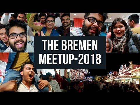 Almost Spent The Night On The Road: BiG Bremen Meetup 2018