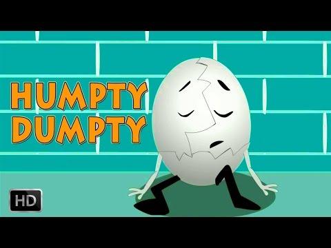 Humpty Dumpty Sat On A Wall - NURSERY RHYMES