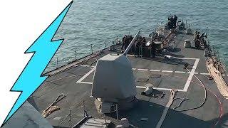 Целями электронных пусков российских ракет стали реальные эсминцы США ► Новости / News