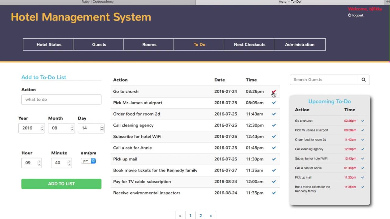 Hotel Management System Free Download
