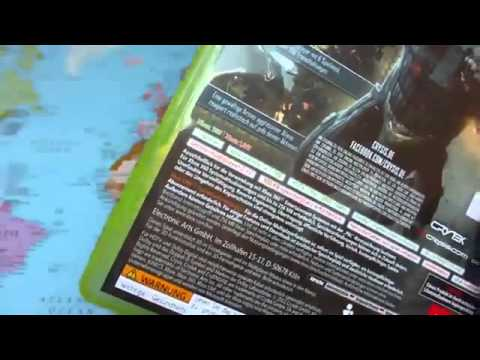 CRYSIS 2   Unboxing German