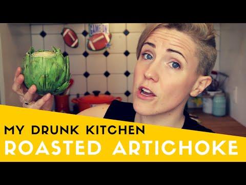 MY DRUNK KITCHEN: ROASTED ARTICHOKE!