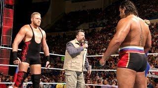 حديث لانآ و روسيف و زآب كولتر و جآك سوآجر || WWE Raw بتآريخ 14/6/30