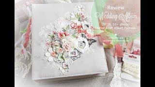 Свадебный альбом / Wedding album. Скрапбукинг. Lemon Craft