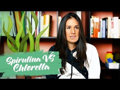Spirulina versus Chlorella.