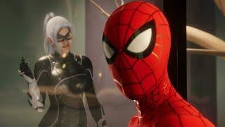 Spider-Man Reunites with Black Cat (Into the Spider-Verse Suit Walkthrough) - Marvel's Spider-Man