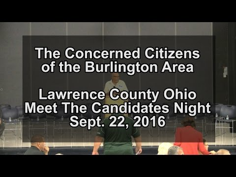 Lawrence Co. Ohio - 2016 Meet the Candidates