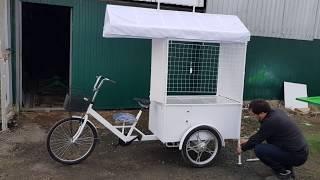 Бизнес - велорикша - мобильная точка для сувениров!