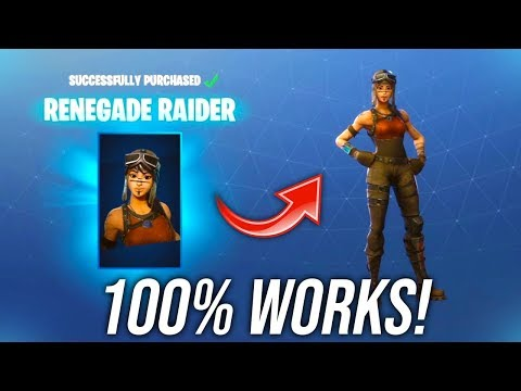 *2019* How To Unlock ANY Old Fortnite Skin! - Renegade Raider!