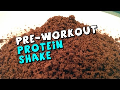 Pre-Workout PROTEIN Shake Recipe