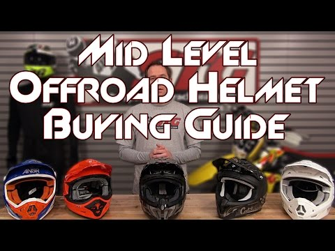 Mid Level Offroad Helmet Buying Guide from Sportbiketrackgear.com
