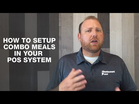 How To Setup Combo Meals In Your POS System