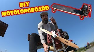 Výroba Motorového Longboardu v domácích podmínkách