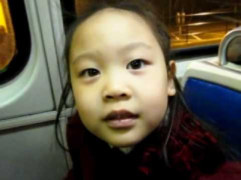 Erin Yuhan Mei - singing silly song on subway
