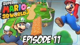 Super Mario 3D World: Let's Fun | Sur le bon rythme ! | Episode 11 Thumbnail