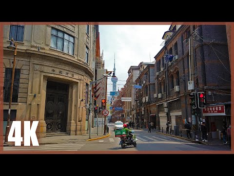 【4k60】Walk in Downtown Shanghai, China | Glimpse of Everyday Life as Lockdown Ends