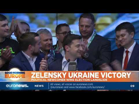 Zelenskiy wins Ukrainian election by landslide | GME