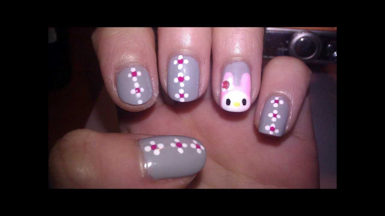 My Melody Nails Youtube
