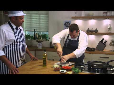 Pan-fried Hake With Mediterranean Tomatoes Recipe | Morrisons
