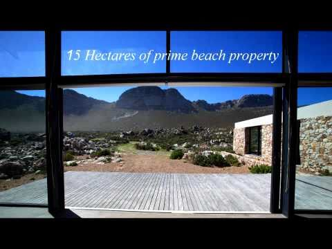 Seafront property for sale 1hr from Cape Town