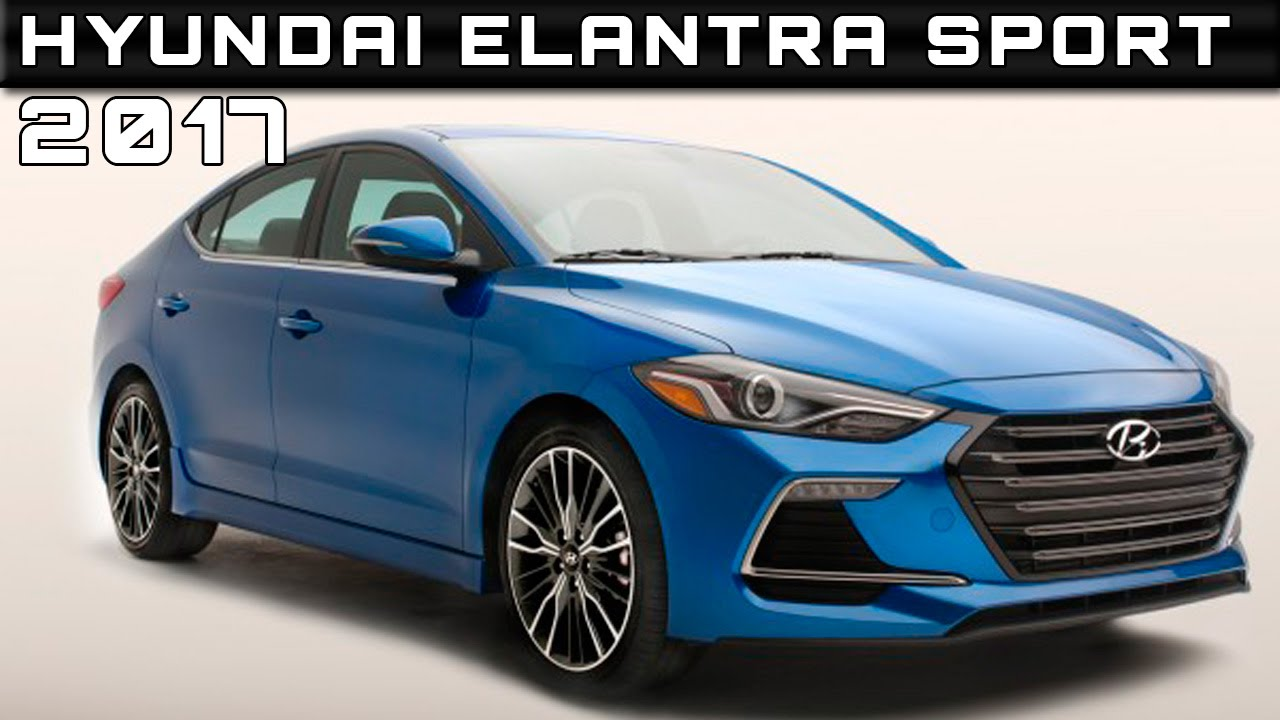2017 hyundai elantra sport review rendered price specs release date youtube. Black Bedroom Furniture Sets. Home Design Ideas