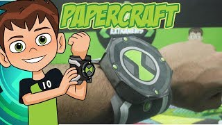 Papercraft do Omnitrix (2017) - Ben 10