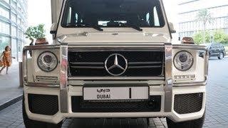 G63 AMG Mercedes-Benz of Sheikh Mohammed bin Rashid Al Maktoum No. 1 سيارة حاكم دبي