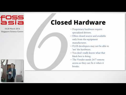 Adoption of open standards and FLOS Software in the public sector - FOSSASIA 2016