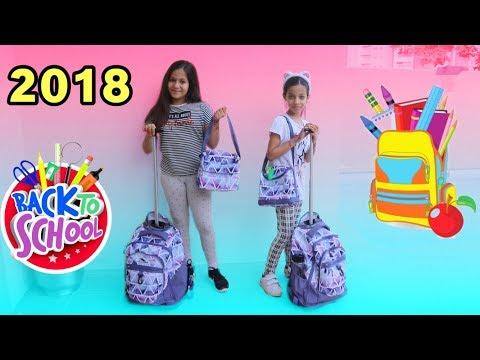 مشتريات المدرسة 2018 !! 📚 - روان وريان | ! Back To School Supplies Haul 2018