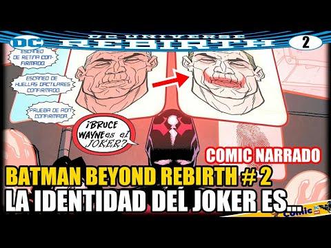 Descubren La IDENTIDAD del Joker y es ¿Bruce Wayne? / Batman Beyond Rebirth #3-5 COMIC NARRADO