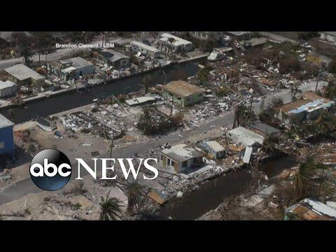 Residents return to assess damage in Florida Keys