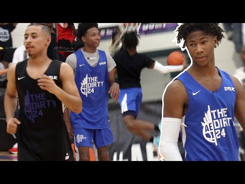 Deivon Smith & Eric Gaines PUT ON A DUNK FEST against Julian Newman & other Top Prospects @ Dirty 24