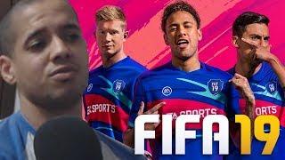 FIFA 19 NA VISÃO DE UM EX-JOGADOR DE FUTEBOL!