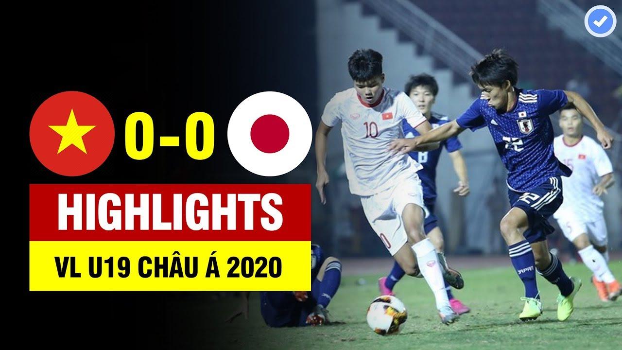 Highlights Việt Nam 0-0 Nhật Bản   U19 Việt Nam đá cho U19 Nhật Bản không có bóng mà chơi