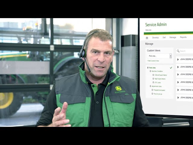 John Deere - Serviços FarmSight –  Expert Alerts 6R