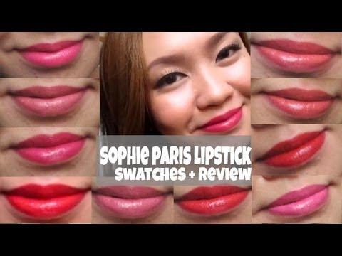sophie-paris-lipstick-swatches-+-review!