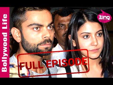 Anushka Sharma-Virat Kohli spotted at Mumbai Airport