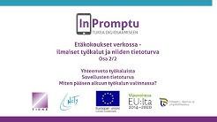 Etäkokoukset verkossa - ilmaiset työkalut ja niiden tietoturva Osa 2/2