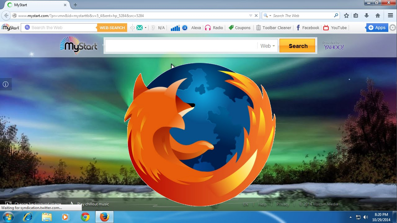 How To Remove MyStart Homepage From Mozilla Firefox