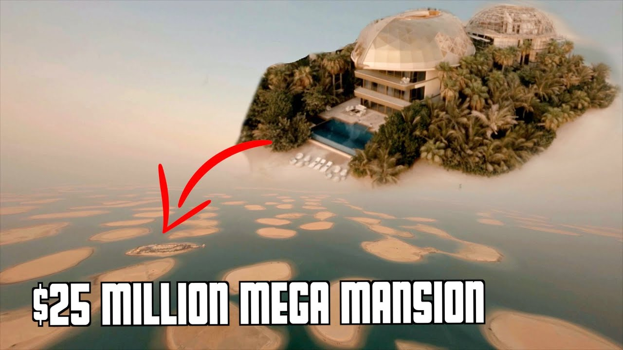 Dubai's World Islands Private Mansion Tour!