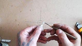 Как смазать замок простым карандашом