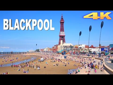 Blackpool - England  4K