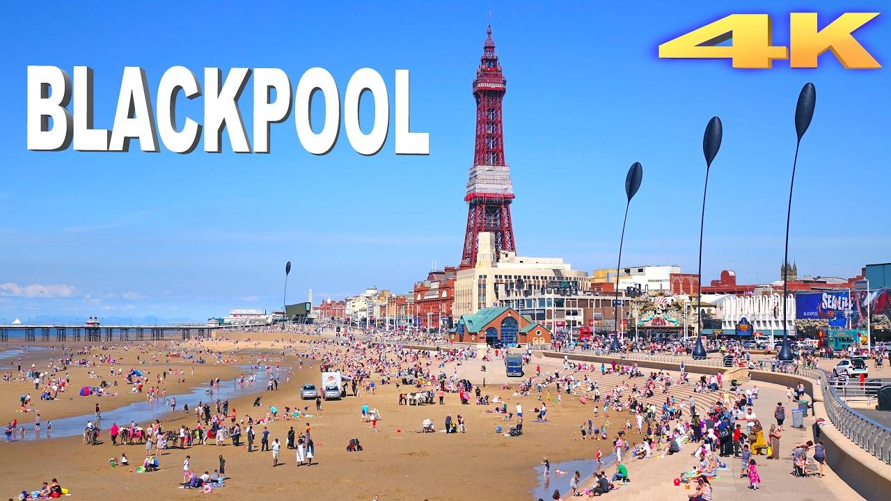 Blackpool - England 4K - YouTube