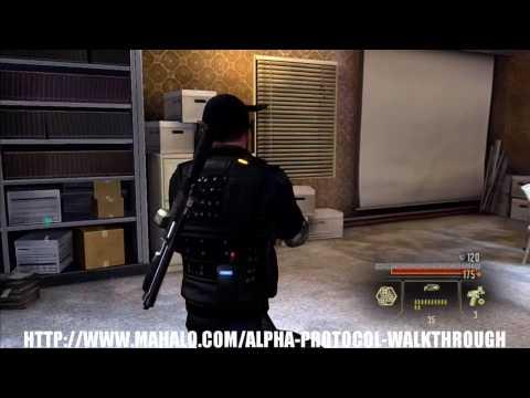 Alpha Protocol Walkthrough - CIA Post
