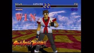 Battle Arena Toshinden - Eiji Arcade Playthrough