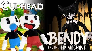 Cuphead VS  Bendy and the Ink Machine - Смотреть видео