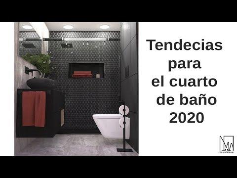 Diseño Interior: Ideas y tendencias para renovar tu baño este 2020.