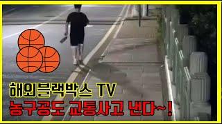 [해외블랙박스] 농구공으로 오토바이 사고가 난다고?