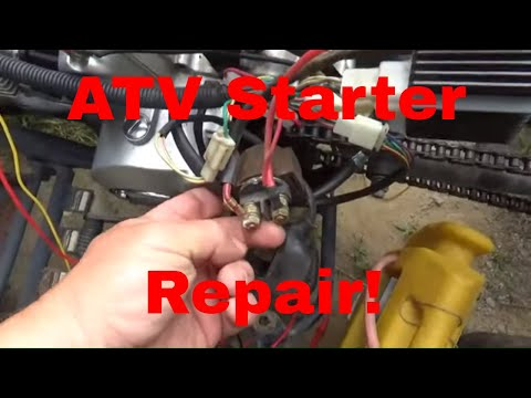 ATV Starter Issues, Diagnose and Repair a Not Cranking China ATV! - YouTube