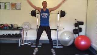 Exercise: Power Jumping Jacks - Baxter Basics Personal Training